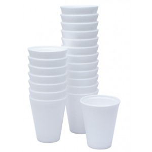 2000 x 7oz Dart Polystyrene Foam Thermal Cups Hot Drinks (190ml)
