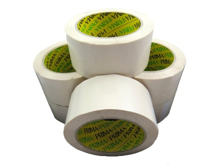 720 x Rolls Of Heavy Duty White Vinyl Packing Tape 48mm x 66m