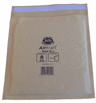 Jiffy Size JL2 (E) Envelopes - 205x245mm