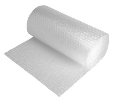 500mm x 9 x 100M Rolls of Small Bubble Wrap