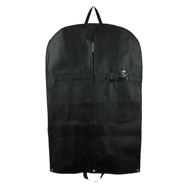 1 x Premium Black Heavy Duty Suit Garment Cover Carrier With Handles